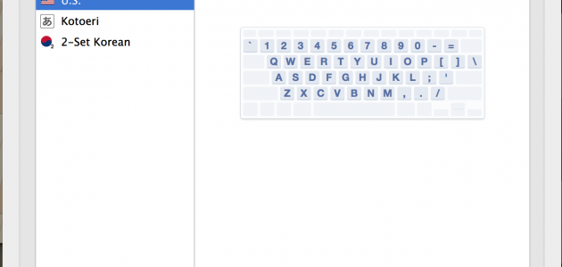 Add new keyboard language to Mac OS